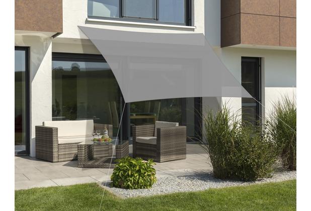 Schneider Schirme Sonnensegel Teneriffa silbergrau 360x360