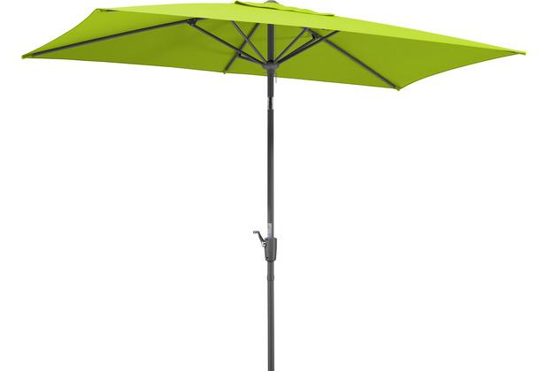Schneider Schirme Sonnenschirm Tunis 270x150/6 apfelgrün