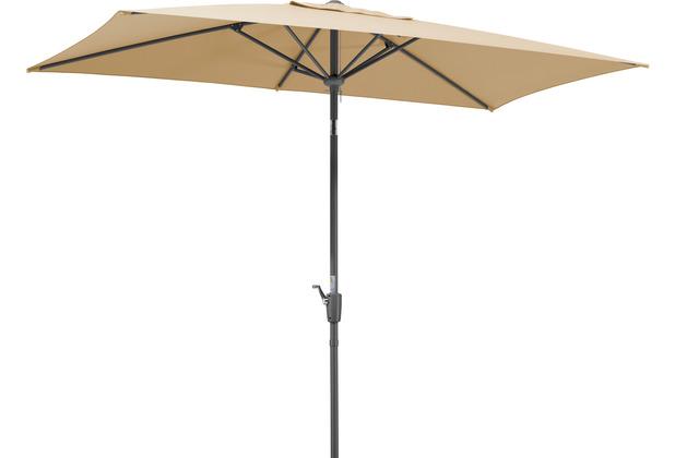 Schneider Schirme Sonnenschirm Tunis 270x150/6 natur