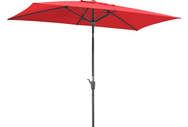 Schneider Schirme Sonnenschirm Tunis 270x150/6 rot