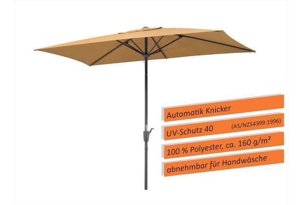 Schneider Schirme Sonnenschirm Tunis 270x150 sand