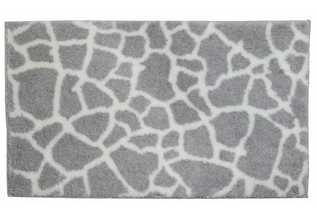 Schöner Wohnen Kollektion Badteppich Mauritius Des. 005 Col. 001Steine creme 60 cm x 60 cm