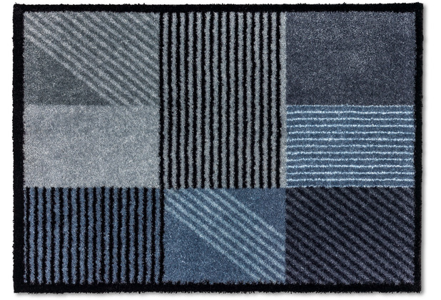 Schöner Wohnen Kollektion Fußmatte Manhattan D.006 C.027 Geomix polartürkis 50x70 cm