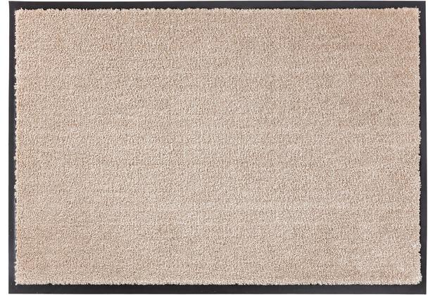 Schöner Wohnen Kollektion Fußmatte Miami, Farbe 006 beige 67 x 150 cm
