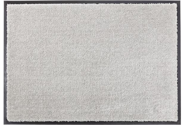 Schöner Wohnen Fußmatte Miami, Farbe 040 grau 67 x 150  cm