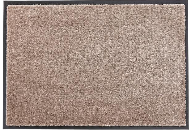 Schöner Wohnen Kollektion Fußmatte Miami, Farbe 084 taupe 67 x 150 cm