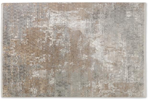 Schöner Wohnen Kollektion Teppich Vision D.212 C.006 Rauten beige 80x150cm