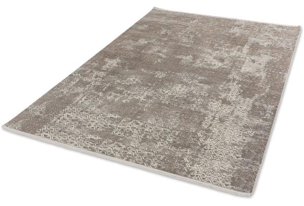 Schöner Wohnen Kollektion Teppich Vision D.213 C.006 Dreiecke beige 80x150cm