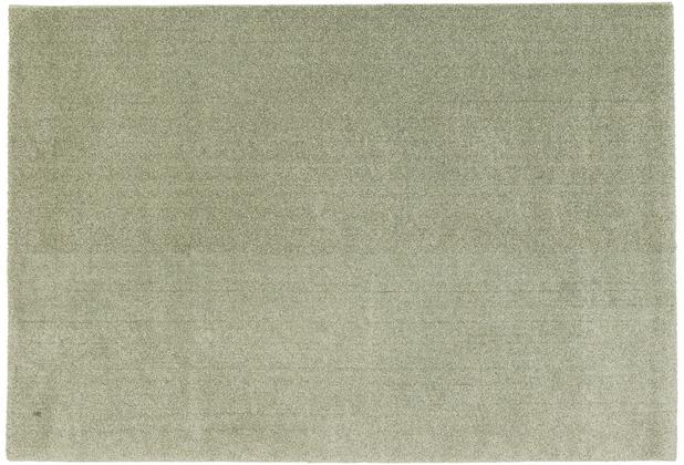 Schöner Wohnen Kollektion Teppich Melody 160 Farbe 030 grün Wunschmaß