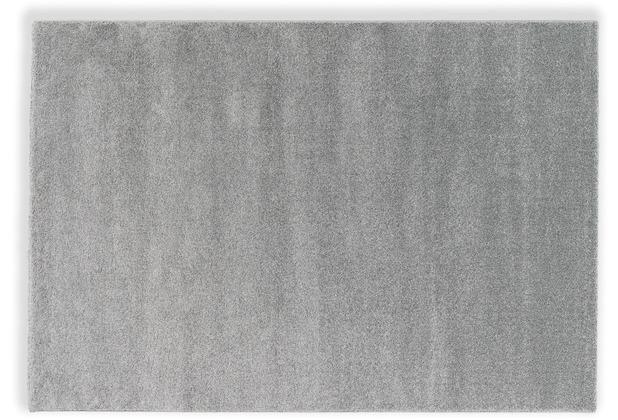 Schöner Wohnen Teppich Pure D. 190 C. 004 silber 133x190 cm