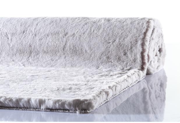 Schöner Wohnen Teppich Tender Design 180 Farbe 004 silber 160 x 230 cm