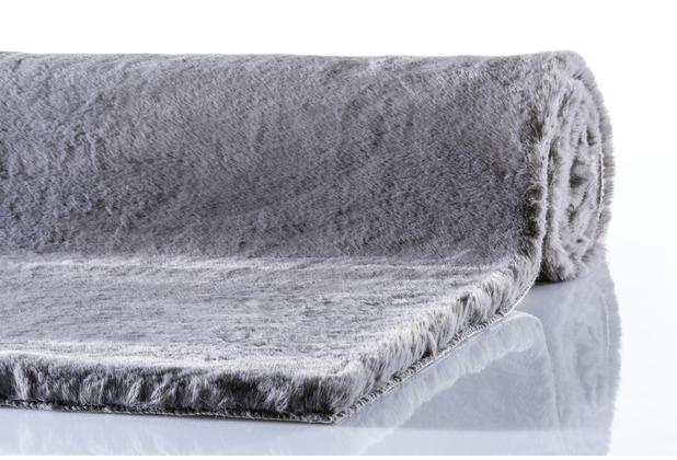 Schöner Wohnen Teppich Tender Design 180 Farbe 040 grau 160 x 230 cm