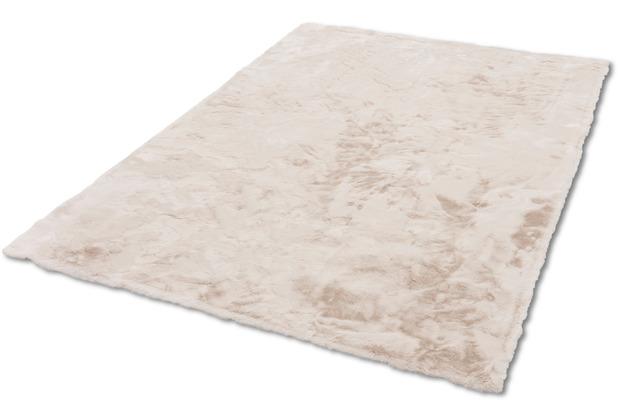 Schöner Wohnen Kollektion Kunstfell-Teppich Tender Design 190 Farbe 003 creme 120 cm x 180 cm