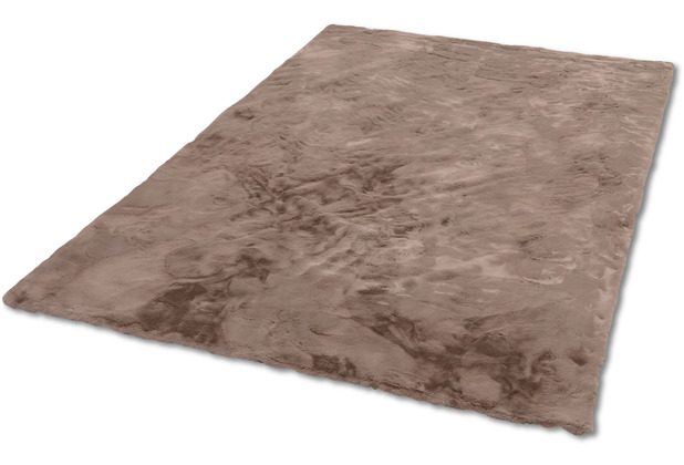 Schöner Wohnen Kollektion Kunstfell-Teppich Tender Design 190 Farbe 006 cappuccino 120 cm x 180 cm