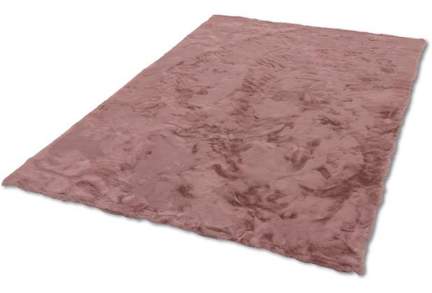 Schöner Wohnen Kollektion Kunstfell-Teppich Tender Design 190 Farbe 011 altrosa 120 cm x 180 cm