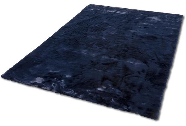Schöner Wohnen Kollektion Teppich Tender Design 190 Farbe 021 nachtblau 120 cm x 180 cm