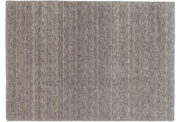 Schöner Wohnen Teppich Victoria Deluxe Design 170 Farbe 005 mittelgrau/grau Wunschmaß