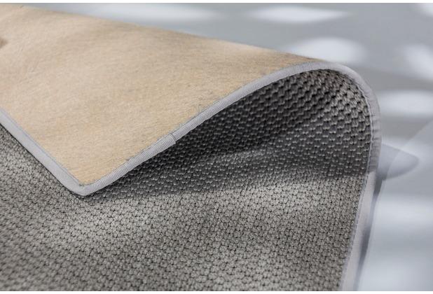 Schöner Wohnen Kollektion Teppich Yucca D.190 C.004 silber 120x180 cm