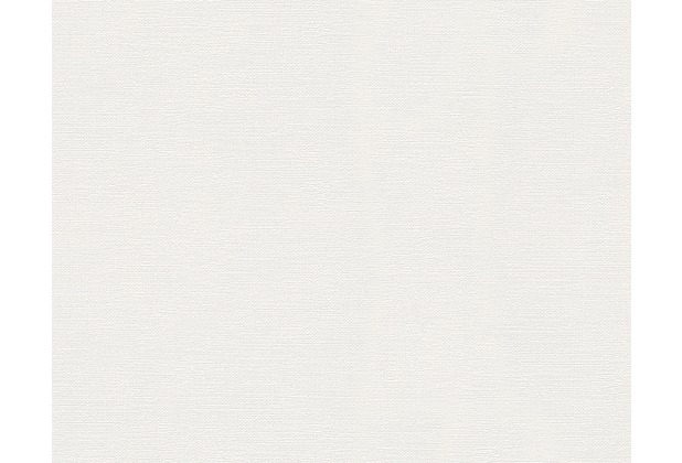 Livingwalls Unitapete, Vliestapete, weiß 304073 10,05 m x 0,53 m