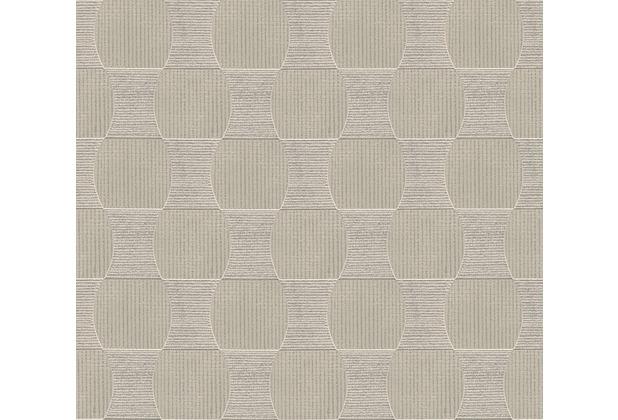 Livingwalls Vliestapete Tapete beige metallic 358693 10,05 m x 0,53 m