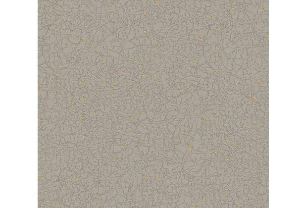 Livingwalls Vliestapete Tapete gelb grau metallic 359126 10,05 m x 0,53 m