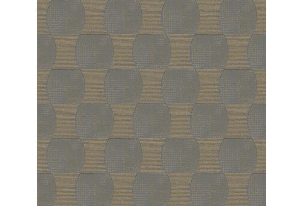 Livingwalls Vliestapete Tapete grau metallic 358691 10,05 m x 0,53 m