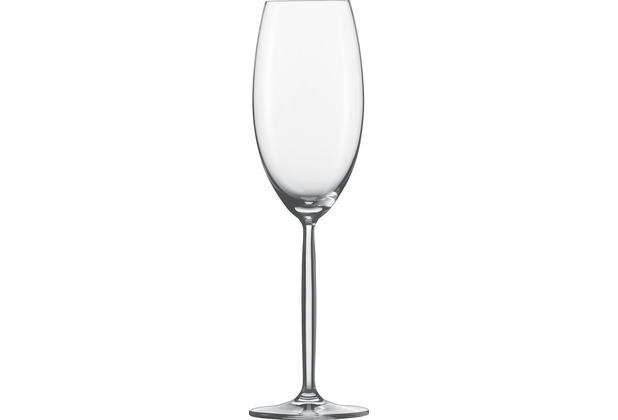 Schott Zwiesel Champagner Diva mit Eichstrich