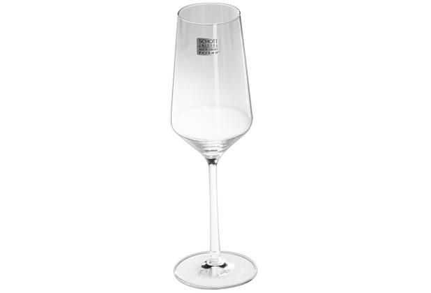 Schott Zwiesel Pure Champagnerglas mit Moussierpunkt 297 ml