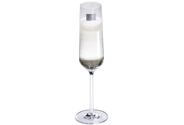 Schott Zwiesel Sektglas Pure mit Moussierpunkt 209 ml