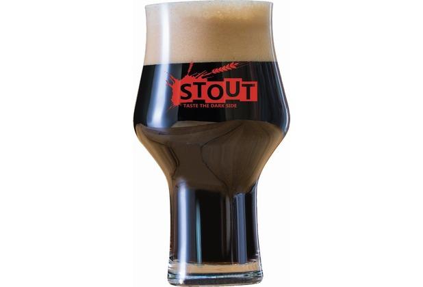 Schott Zwiesel Stout Beer Basic Craftbierglas mit Dekor