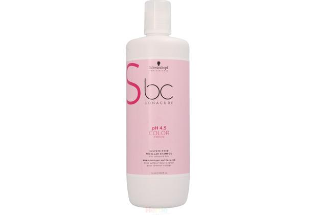 Schwarzkopf Bonacure Color Freeze Sulfate-Free Shampoo - 1000 ml