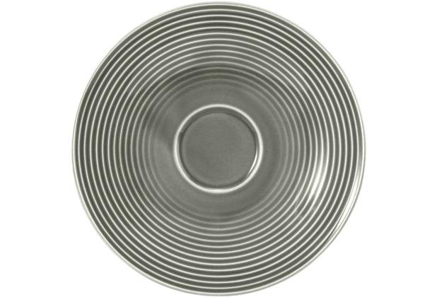 Seltmann Weiden Beat Kombi-Untertasse groß 16,5 cm Perlgrau