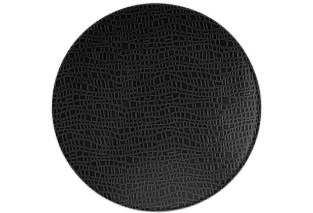 Seltmann Weiden Brotteller rund 16,5 cm Life Fashion glamorous black 25677