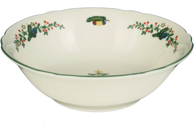 Seltmann Weiden Dessertschale 15 cm Marie Luise Weihnachten 43607 bunt, grün