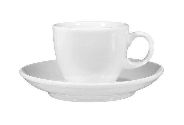 Seltmann Weiden Espressotasse 1132 0,09 l mit Untertasse VIP weiß