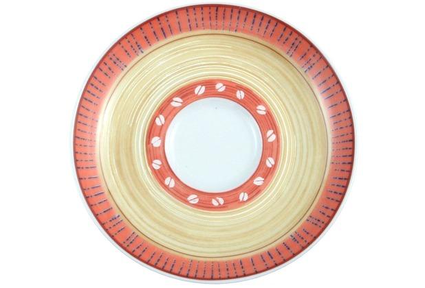 Seltmann Weiden Espressountertasse 1132 12 cm VIP Termoli 22126 creme,orange