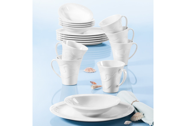 Seltmann Weiden Allegro Frühstück-Set für 6 Personen 18-teilig