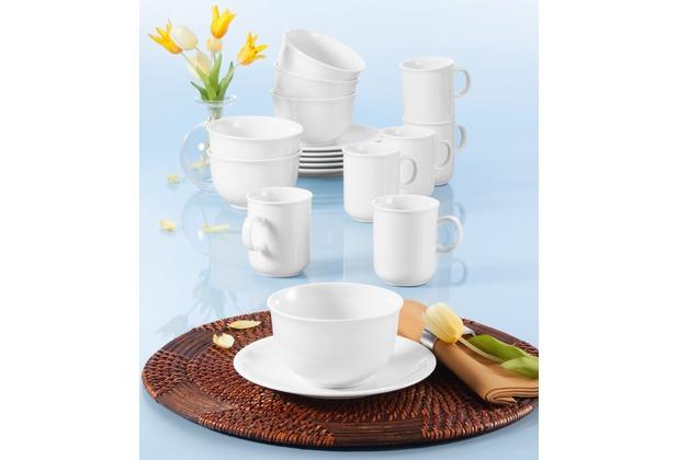 Seltmann Weiden Compact Frühstück-Set für 6 Personen 18-teilig