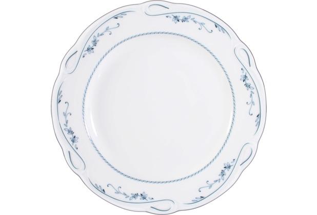 Seltmann Weiden Frühstücksteller 20 cm Fahne Desiree Aalborg 44935 blau