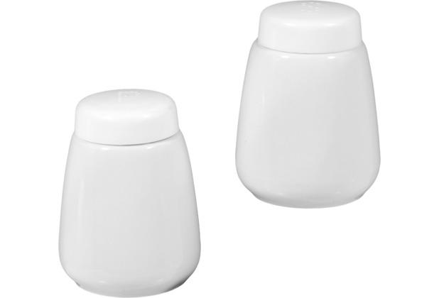 Seltmann Weiden Garnitur Salz und Pfeffer Compact weiß uni 00007