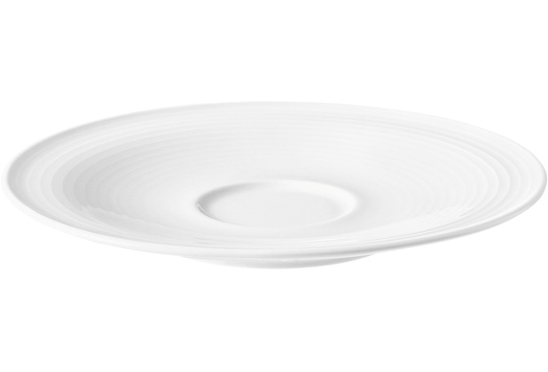 Seltmann Weiden Kombi-Untertasse groß 16,5 cm Beat weiß