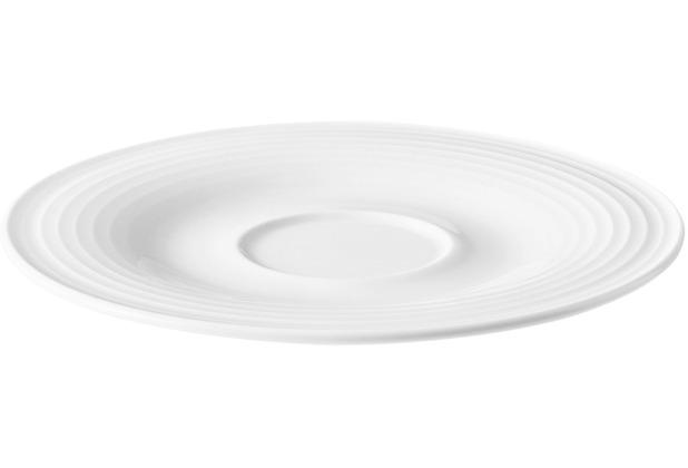 Seltmann Weiden Kombi-Untertasse klein 13,5 cm Beat weiß