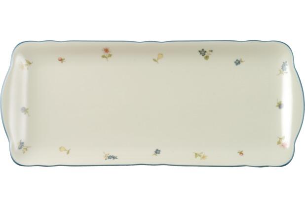 Seltmann Weiden Kuchenplatte eckig 35 cm Marie Luise Streublume 30308 bunt