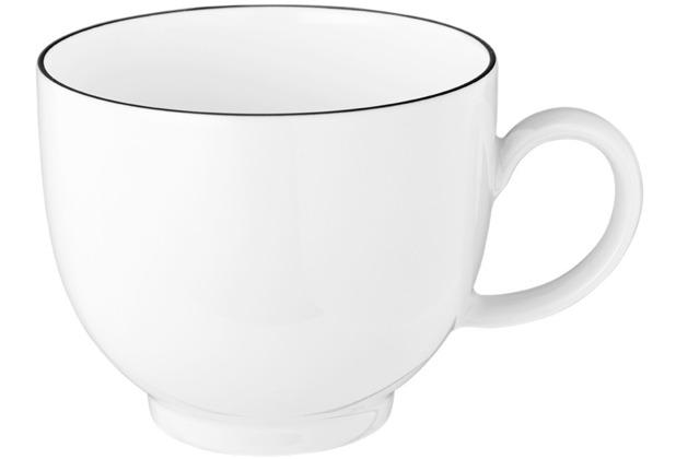 Seltmann Weiden Lido Kaffeetasse 0,21 l Black Line
