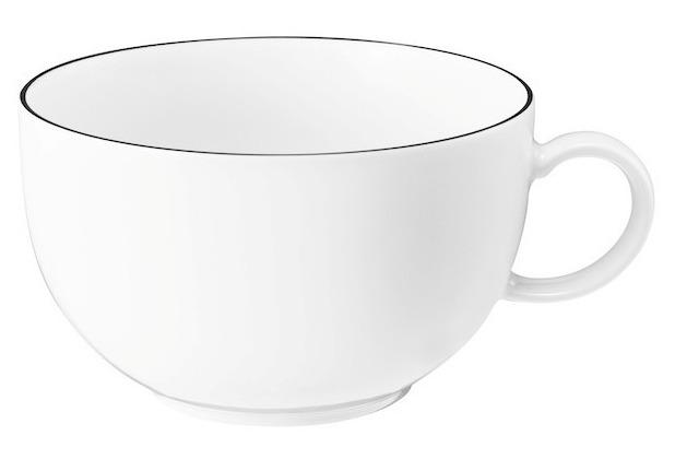 Seltmann Weiden Lido Milchkaffeeobertasse 0,35 l schwarz