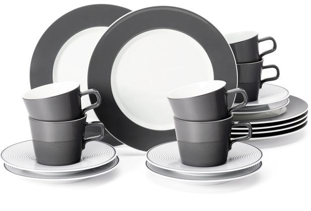Seltmann Weiden No Limits Kaffeeservice für 6 Personen 18-teilig