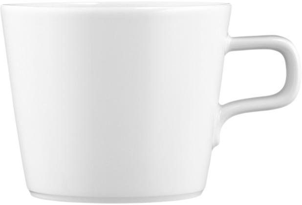 Seltmann Weiden Obere zur Cappuccino-/Teetasse 0,26 l No Limits weiß uni 00003