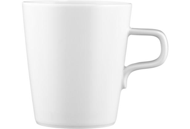 Seltmann Weiden Obere zur Milchkaffeetasse 0,37 l No Limits weiß uni 00003