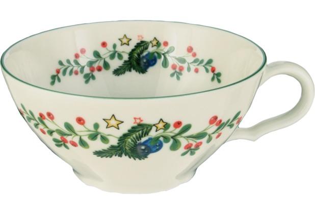 Seltmann Weiden Obere zur Teetasse 0,14 l Marie Luise Weihnachten 43607 bunt, grün