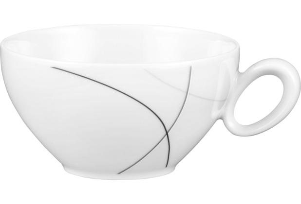 Seltmann Weiden Obere zur Teetasse 0,21 l Trio Highline 71381 grau, schwarz